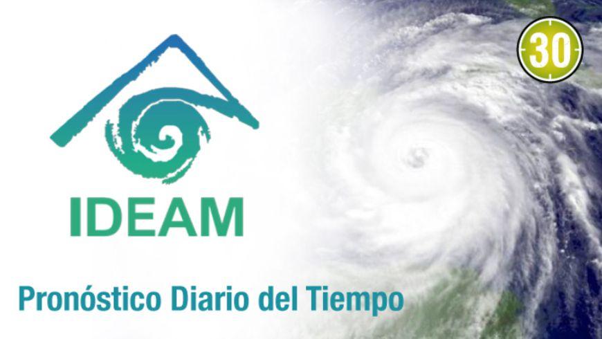 IDEAM: PRONÓSTICO DEL TIEMPO A NIVEL NACIONAL – eltransporte.com