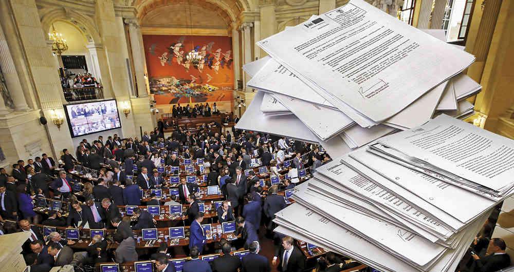 Ley de Financiamiento ya se aprobaron en bloque 37 artículos