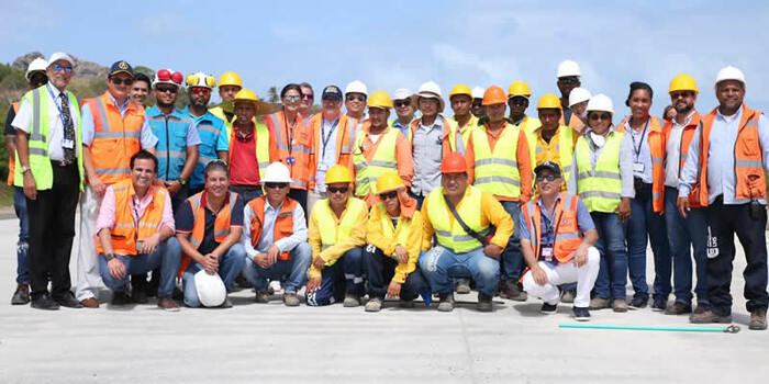 Aeropuertos de San Andrés y en el de Providencia