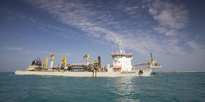Empresa European Dredging Company dragará canal de acceso a Puerto de Barranquilla