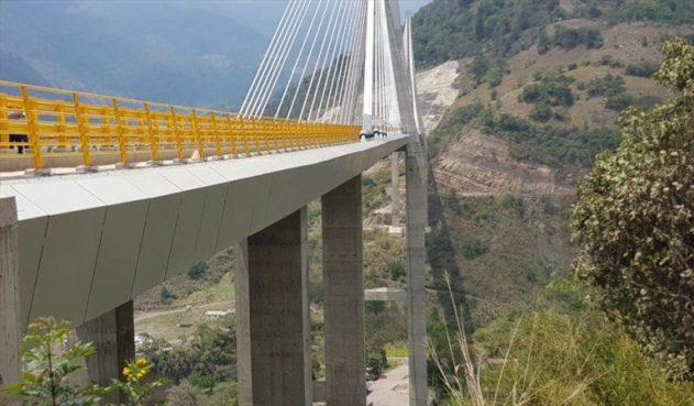 Se aleja entrega del puente Hisgaura, en Santander