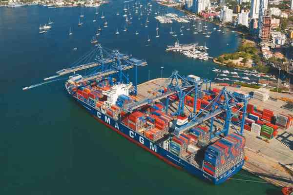 Puertos del Caribe colombiano movilizaron más de 37 millones de toneladas