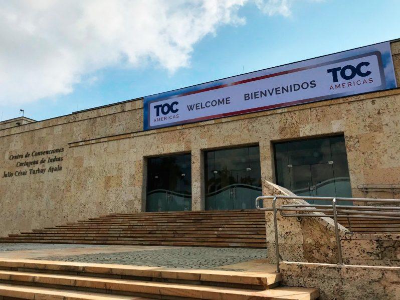 TOC Américas 2019 actividades inician con tour por las instalaciones del Grupo Puerto de Cartagena