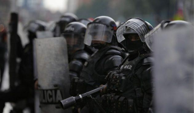 Más de 130 heridos en Bogotá durante jornadas de protestas