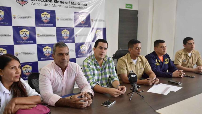 Por Coronavirus, Dimar realiza controles a buques que llegan al Puerto de Barranquilla