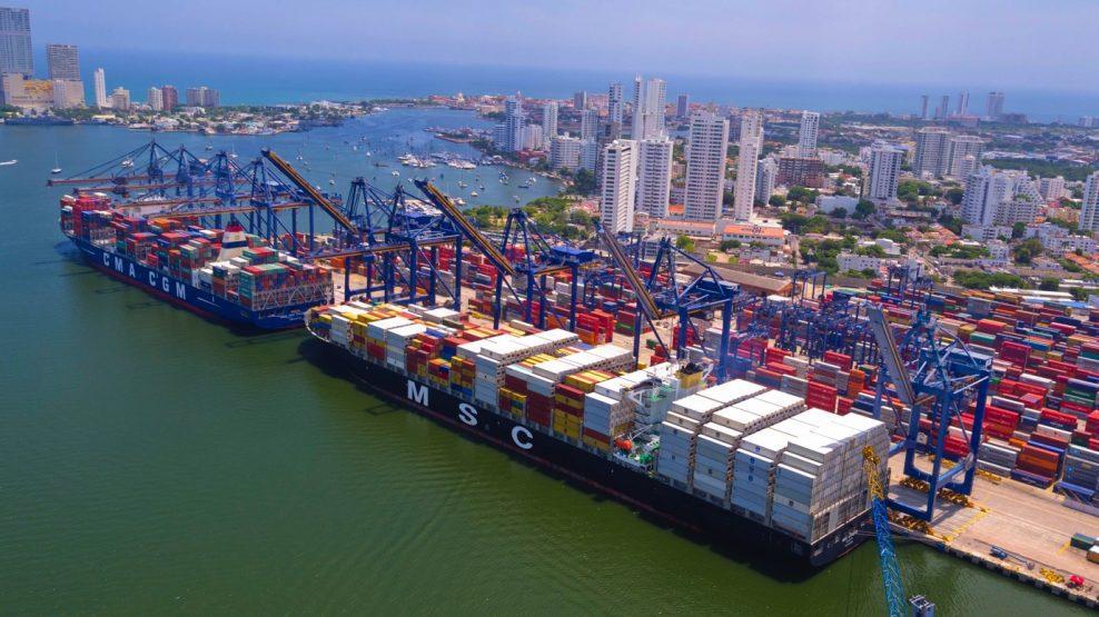 El coronavirus obliga a sustituir Tailandia por Colombia como destino del puerto de Barcelona