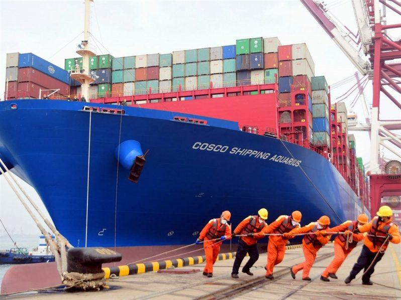 Coronavirus: Transporte marítimo de China prácticamente detenido tras irrupción de la epidemia