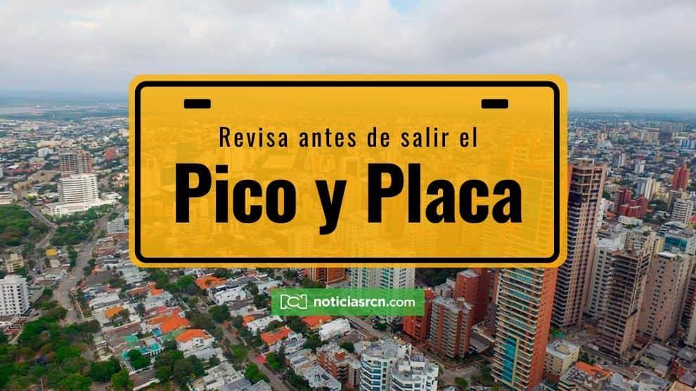 Pico y placa hoy: conoce el horario de restricción vehicular para Medellín y las demás ciudades