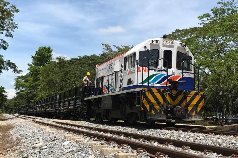 Colombia ya cuenta con 1.043 kilómetros de vía férrea con operación comercial
