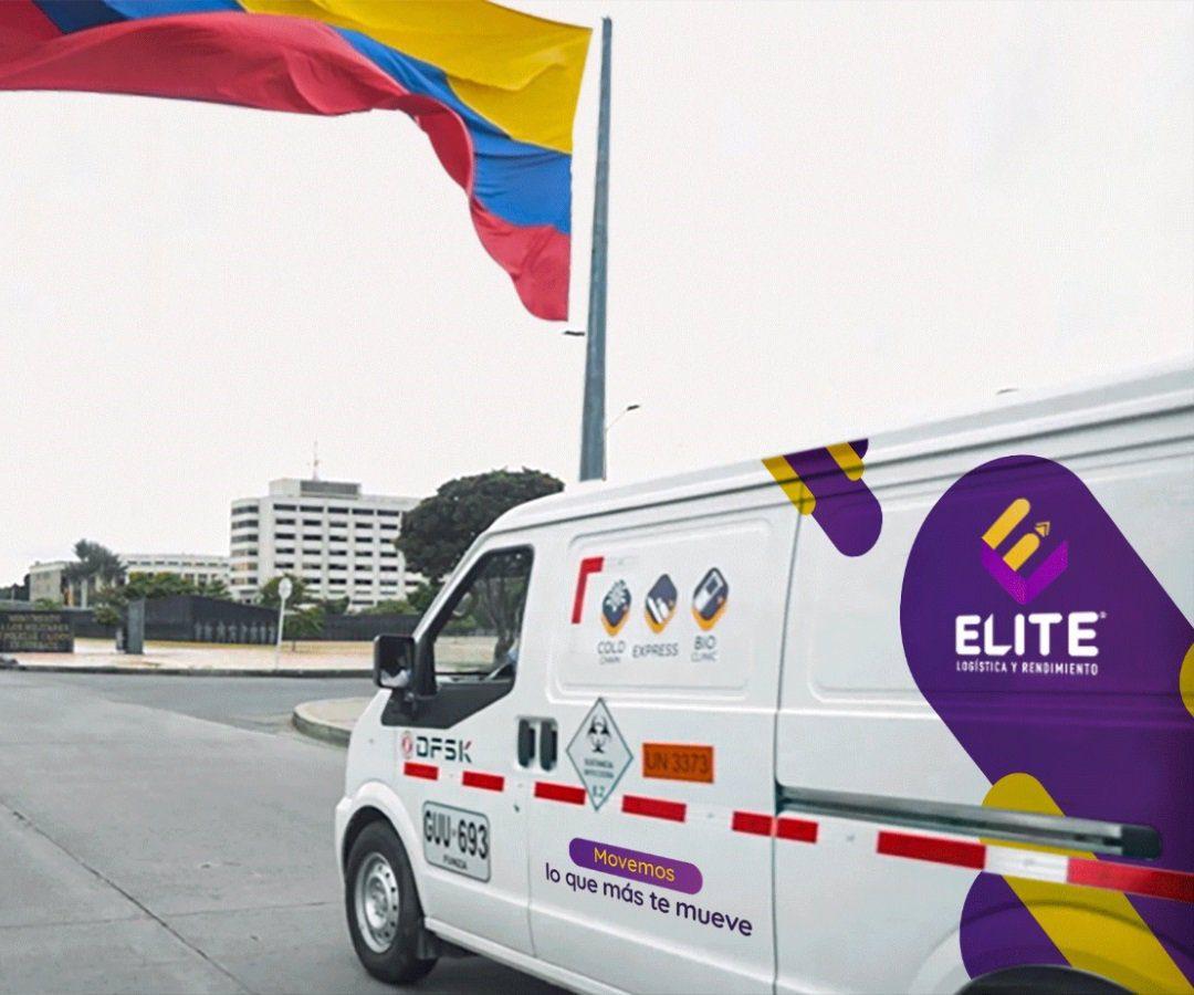 Élite Logística, la empresa autorizada para transportar las pruebas del Covid-19 en el país