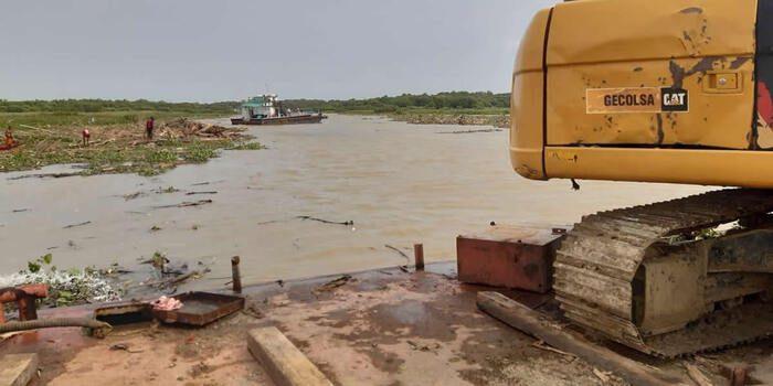 Avanzan trabajos de limpieza en el Río Atrato, principal vía fluvial para el abastecimiento del departamento de Chocó